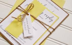Rustic Wedding Invitations Unique Handmade Kraft And