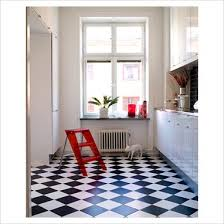 decoration tips related with black and white vinyl flooring