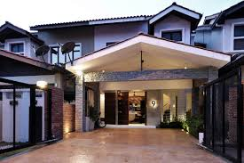 100 Terraced House Designs Double Storey Terrace Designmalaysia