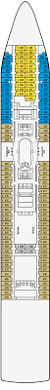 Celebrity Equinox Deck Plan 6 by Pacific Dawn Deck 6 Deck Plan Tour