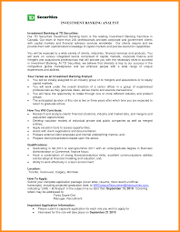 How To Write An Investment Banking Resume When You Have No Download Free Banker Sample Billigfodboldtrojer