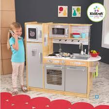 cuisine enfant kidkraft cuisine enfant uptown naturelle en bois jouet d imitation