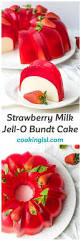 Halloween Jello Molds by Milk Strawberry Jell O Mold Bundt Recipe Recipes Jello And Cake