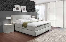 tolle boxspringbett schlafzimmer komplett komplettes