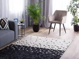 teppich erfelek schwarz beige 160x230cm ch