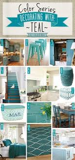 Color Series Teal Deocor Kitchen Bath Decor