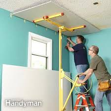Skip Trowel Over Popcorn Ceiling by Why Remove Popcorn Ceiling When You Can Cover It With Drywall