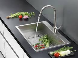 33x22 Single Bowl Kitchen Sink by Ruvati Tirana 33