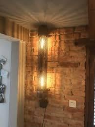 details zu unikat le im industriedesign 90cm loft 30er jahre wohnzimmer diele wandle