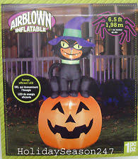 Airblown Inflatable Halloween Yard Decorations by 7ft Yard Decor Gemmy Airblown Inflatable Halloween Pumpkin Stack