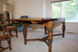Smartness Design Antique Oak Dining Table Agreeable