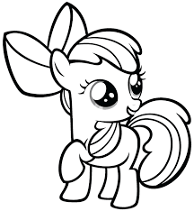 Coloring Pages Mlp My Little Pony