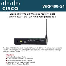 Cisco WRP400-G1 Wireless-G Broadband Router With 2 Phone Ports Cisco Cp7921gek9 7921 Unified Wireless Ip Voip Phone Desktop Phone Holder 90 Cp7971gge Color Screen 7971g A4 Ebay 7925 Cp7925gak9 Voip 74546402 W 8821 Cp8821k9 Jabra Handset 450 Run Dlj Telecom New And Refurbished Telecommunication 8811 5line Cp8811k9 Amazoncom 7925g Battery Cp7941g