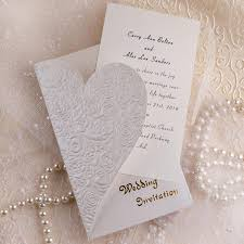 Wedding Invitations with a Romantic Touch Pinterest