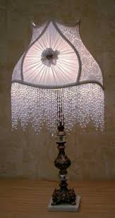Rawhide Lamp Shades Ebay by Victorian Beaded Lamp Shades Foter