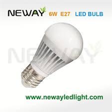 6w led light bulb 270 degrees wide angle wide beam angle led bulb