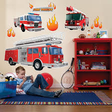 Amazon.com: Fire Truck Firefighter Room Decor - Giant Wall Decals ... Starwrapscom Trucks Peel And Stick Wall Decals Walmartcom New Replacement Decals Stickers Fits Step2 Toddle Tune Coupe Fire Department Truck Window Decal Art For Trucklovers Install Gallery Category Vehicle Graphics Image Firetruck Station House Vinyl Sticker Original Flame Custom Pictures To Pin Decal Chicagoaafirecom Svi Chevrons Partsdecal Predator Severe Service Front Grill Flag Lightning Need It Got Getlgcom