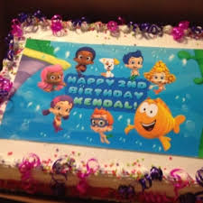 Bubble Guppies Cake Toppers by Gallery