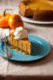 Pumpkin Cheesecake Gingersnap Crust Food Network by Pumpkin Cheesecake With Salted Caramel Sauce Cooking Classy