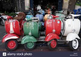 Vintage Vespa Piaggio Scooter Vespas 150 Super Bangkok Thailand Southeast Asia