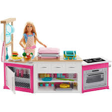 Barbie Ultimate Kitchen With Doll Dough Cooking Baking Toy