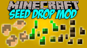 Minecraft Melon Seeds by Seed Drop Mod 1 12 2 1 11 2 Seed Types Dropable From Grass