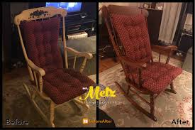 Refinish Rocking Chair | Metz Repair Grandpas Rocking Chair Brightened Up For New Baby Nursery Future Restoration Pictures Rahns Fniture Sold Arts And Crafts Childs Refinished The Frosted Gardner West Custom Cartoon Of Chairs The Adventures Mrs Comfortable Rocking Chairs Stock Image Image Of 1970s Vintage Thonet Feigleys Repair Refishing Shop Home Facebook How To Refinish A With Stain Stencils Wingback Spring Chair Refinished New Cushions Made Upholstered Redo Prodigal Pieces Heirloom Hour 1 Moms Wooden In