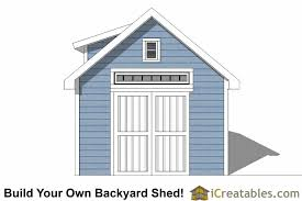 Shed Dormer Plans by 12x20 Shed Plans With Dormer Icreatables