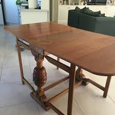 Old Wood Dining Room Table by Antique And Vintage Tables Collectors Weekly