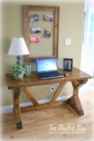 Sewing Cabinet Woodworking Plans by Best 25 Diy Computer Desk Ideas On Pinterest Computer Rooms