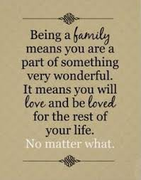 THE MEANING OF FAMILY Unfortunately There Are Some Members That Dont Understand