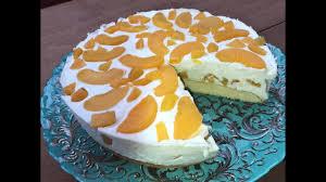 fettarme pfirsich joghurt torte aus dem nwd backbuch