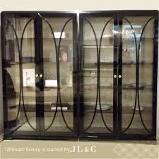 Wholesale Solid Wood Wine Rack Kitchen Cabinet Luxury Classic Furniture JH02 02 Display
