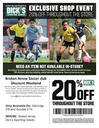 Dick's Sporting Goods Coupons (2) - Promo & Coupon Codes Updates World Soccer Shop Coupon Codes September 2018 Coupons Bahrain Flag Button Pin Free Shipping Coupon Codes Liverpool Fans T Shirts Football Clothings For Soccer Spirits Anniversary Fiasco Challenger Promo Code Bhphotovideo Cash Back Under Armour Cleats White Under Ua Thrill Forza Goal Discount Buy Buffalo Boots Online Buffalo Shoes 6000 Black Coupons Taylormade Certified Pre Owned Free Shipping Pompano Train Station Trx Recent Deals
