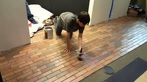2016 02 16 concrete wet look over floor tile youtube
