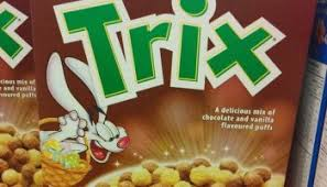 CANADIAN SPOTTED ON SHELVES Limited Time Only Chocolatey Trix Cereal