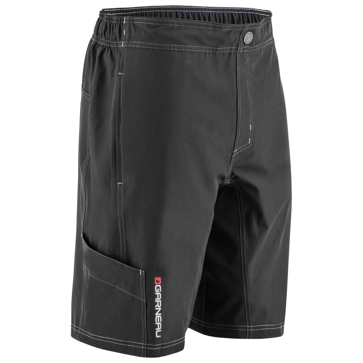 Louis Garneau Range Mens Bike Short 2017 - Black, X-Large