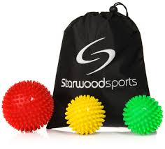 Spiky Massage Ball Rollers Lacrosse Balls For Myofascial Release Trigger Point Therapy Choose