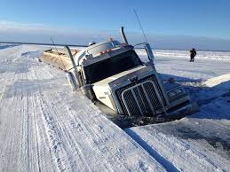 100 Ice Road Trucking Companies Heavy Fuel Truck Crashes Through Ice Road Days After Government