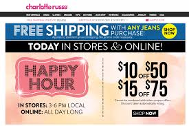 Charlotte Russe Coupons - $10 Off $50 & More 3-6pm Today 25 Off Lmb Promo Codes Top 2019 Coupons Promocodewatch Citrix Promo Code Charlotte Russe Online Coupon Russe Code June 2013 Printable Online For Charlotte Simple Dessert Ideas 5 Off 30 Today At Relibeauty 2015 Coupon Razer Codes December 2018 Naughty Coupons Him Fding A That Actually Works Best Latest And Discount Wilson Leather Holiday Gas Station Free Coffee Edreams Multi City