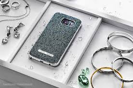 swarovski siege designer cases for galaxy s6 and s6 edge unveiled by samsung