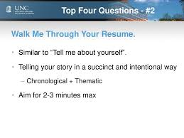 100 Walk Me Through Your Resume Undergraduate Business Program Admissions Interview Tips Tricks