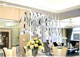 Crystal Chandeliers For Dining Room Incredible
