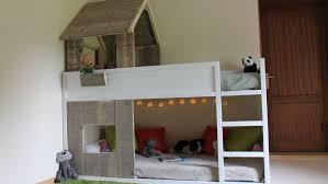 chambre enfant cabane charmant chambre enfant avec bureau 11 lit cabane kura simple 224