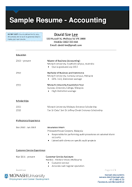 Accounting Student Resume Main Image Download Template