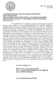 DEMANDA DE NULIDAD DE ESCRITURA Derechomexicanocommx
