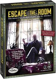 ravensburger 76310聽thinkfun escape the room聽 聽the secret of the refugiums by dr gravely