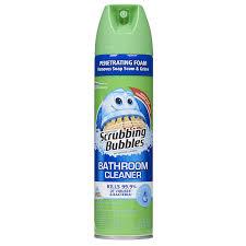 amazon com scrubbing bubbles antibacterial bathroom cleaner