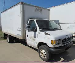 1999 Ford Econoline E350 Super Duty Box Truck | Item E8118 |...