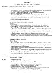 Certified Medical Assistant Resume Samples | Velvet Jobs 89 Examples Of Rumes For Medical Assistant Resume 10 Description Resume Samples Cover Letter Medical Skills Pleasant How To Write A Assistant With Examples Experienced Support Mplates 2019 Free Summary Riez Sample Rumes Certified Example Inspirational Resumegetcom 50 And Templates Visualcv